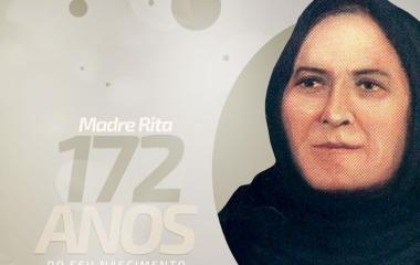 Hoje é o aniversário de 172 anos da fundadora do nosso colégio, Rita Amada de Jesus, nossa Madre Rita